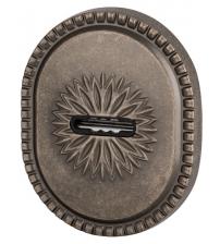 Накладка на сувальдный замок ARMADILLO CLASSIC PS/DEC-Protector 1 ATC AS-9 (античное серебро, 1 шт.)