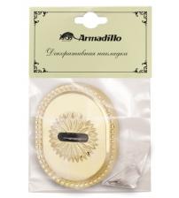 Накладка на сувальдный замок ARMADILLO CLASSIC PS/DEC-Protector 1 ATC GP-2 (золото, 1 шт.)