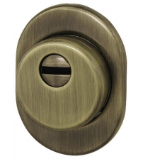 Броненакладка врезная FUARO DEF 4825 AB (бронза)