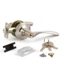 Защёлка AVERS 8023-01-NIS (матовый никель, ключ/фиксатор)