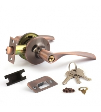 Защёлка AVERS 8023-01-AC (медь, ключ/фиксатор)