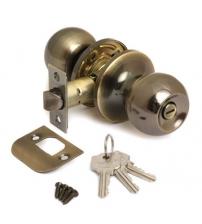 Защёлка AVERS 6072-01-AB (бронза, ключ/фиксатор)