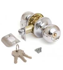 Защёлка AVERS 6072-01-CR (хром, ключ/фиксатор)