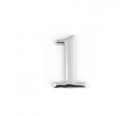 Цифра дверная APECS DN-01-1-Z-CR (хром, самоклеящаяся)