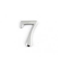 Цифра дверная APECS DN-01-7-Z-CR (хром, самоклеящаяся)