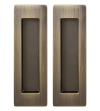 Ручки для раздвижных дверей ARMADILLO SH010/URB AB-7 (бронза)