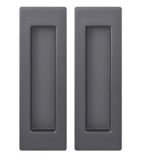 Ручки для раздвижных дверей ARMADILLO SH010/URB BPVD-77 (воронёный никель)