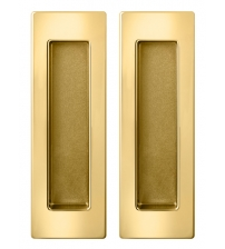 Ручки для раздвижных дверей ARMADILLO SH010/URB Gold-24K (золото 24 карата)