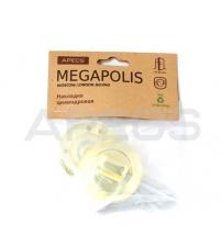 Фиксатор APECS Megapolis WC-0803-G (золото)