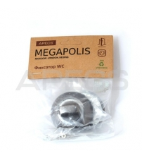 Фиксатор APECS Megapolis WC-0803-GRF (графит)