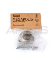 Фиксатор APECS Megapolis WC-0803-MB (матовая бронза)