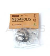 Фиксатор APECS Megapolis WC-0803-BN (чёрный никель)