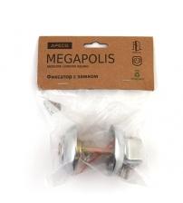 Фиксатор с замком APECS Megapolis WC-К-0803-CR (хром)
