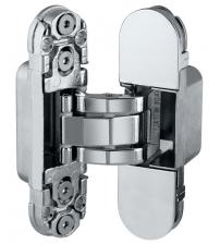 Петля скрытой установки AGB Е30.200.03.06 ECLIPSE 2.0 (4 накладки в комплекте, никель)