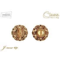 Фиксатор CLASS WC NEW 60 mm 24K/BВ/Cristal+6 (золото 24К/коричневый)