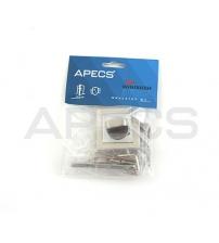 Фиксатор Apecs Windrose WC-1803-NIS (матовый никель)