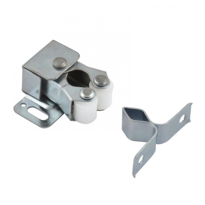 Защёлка роликовая НОРА-М №2 (хром, 24 мм.)