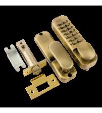 Кодовый замок НОРА-М 201 (бронза, с фиксатором)