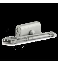Доводчик морозостойкий НОРА-М №2s F (с фиксацией, до 50 кг., серый)