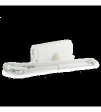 Доводчик морозостойкий НОРА-М №3S (большой рычаг, до 80 кг., белый)
