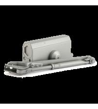Доводчик морозостойкий НОРА-М №3s F (с фиксацией, большой рычаг, до 80 кг., серый)