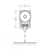 Автоматический порог ARMADILLO EASY TREND ASTD A/630 (на полотно 600 мм.)