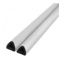 Уплотнитель TRELLEBORG D-LIST D-100 12 х 10 мм (белый)