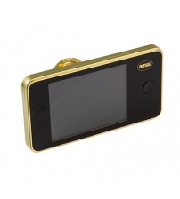 Видеоглазок AMIG 21138 DW 3.2 (золото, оптика стекло, камера 1,3 mega pixel, толщина двери 42/72)