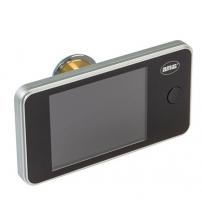 Видеоглазок AMIG 21139 DW 3.2 (серебро, оптика стекло, камера 1,3 mega pixel, толщина двери 42/72)