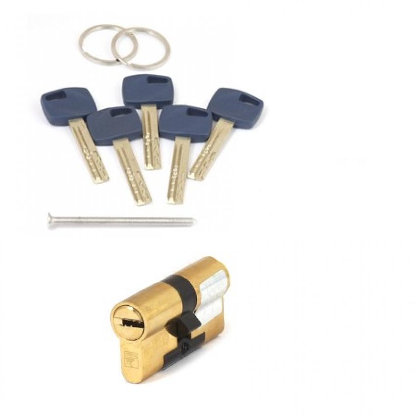 Цилиндровый механизм Apecs Premier XR-80(35/45)-G (золото)