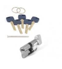 Цилиндровый механизм Apecs Premier XR-70(35/35С)-C15-NI (никель, с вертушкой)