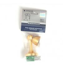 Упор магнитный универсальный напольный/настенный Apecs DS-2761-M-GM (матовое золото)