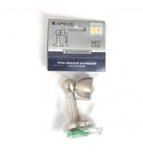 Упор магнитный универсальный напольный/настенный Apecs DS-2761-M-NIS (матовый никель)