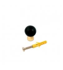 Отбойник напольный/настенный ARCHIE A003 А (золото)