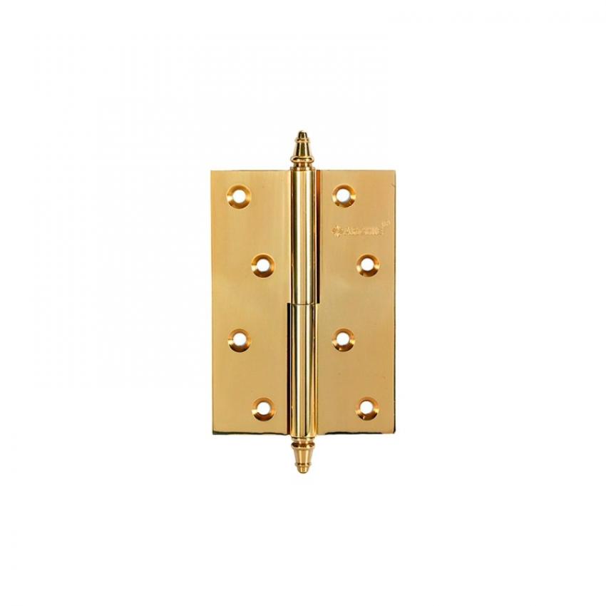 Петля разъёмная ARCHIE A010-D 100X70X3-224 R (золото; с короной; правая)