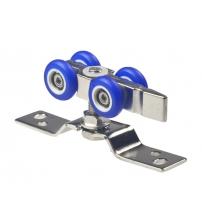 Комплект роликов для раздвижных дверей DENALI SR4-03 (вес двери до 60 кг.)