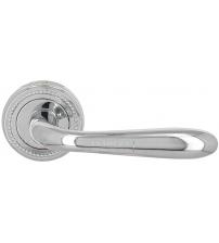 """Ручка дверная EXTREZA Classic """"ALDO"""" 331 R03/F04 (полированный хром)"""