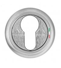 Накладки на цилиндр EXTREZA Classic YALE R01/F05 (матовый хром)
