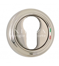 Накладки на цилиндр EXTREZA Classic YALE R01/F21 (полированный никель)