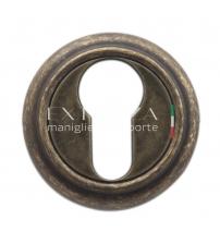 Накладки на цилиндр EXTREZA Classic YALE R01/F23 (античная бронза)