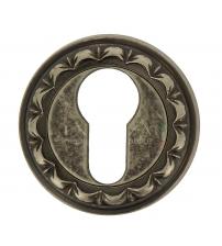 Накладки на цилиндр EXTREZA Classic YALE R02/F45 (античное серебро)