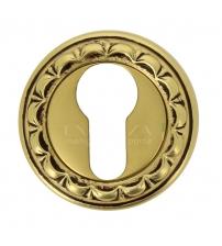 Накладки на цилиндр EXTREZA Classic YALE R02/F59 (французское золото/коричневый)