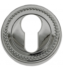 Накладки на цилиндр EXTREZA Classic YALE R03/F21 (полированный никель)