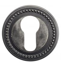 Накладки на цилиндр EXTREZA Classic YALE R03/F45 (античное серебро)
