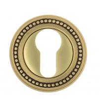 Накладки на цилиндр EXTREZA Classic YALE R03/F59 (французское золото/коричневый)