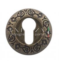 Накладки на цилиндр EXTREZA Classic YALE R04/F23 (античная бронза)
