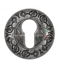 Накладки на цилиндр EXTREZA Classic YALE R04/F45 (античное серебро)