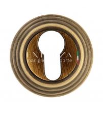 Накладки на цилиндр EXTREZA Classic YALE R05/F03 (матовая бронза)