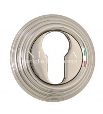 Накладки на цилиндр EXTREZA Classic YALE R05/F21 (полированный никель)