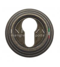 Накладки на цилиндр EXTREZA Classic YALE R05/F23 (античная бронза)